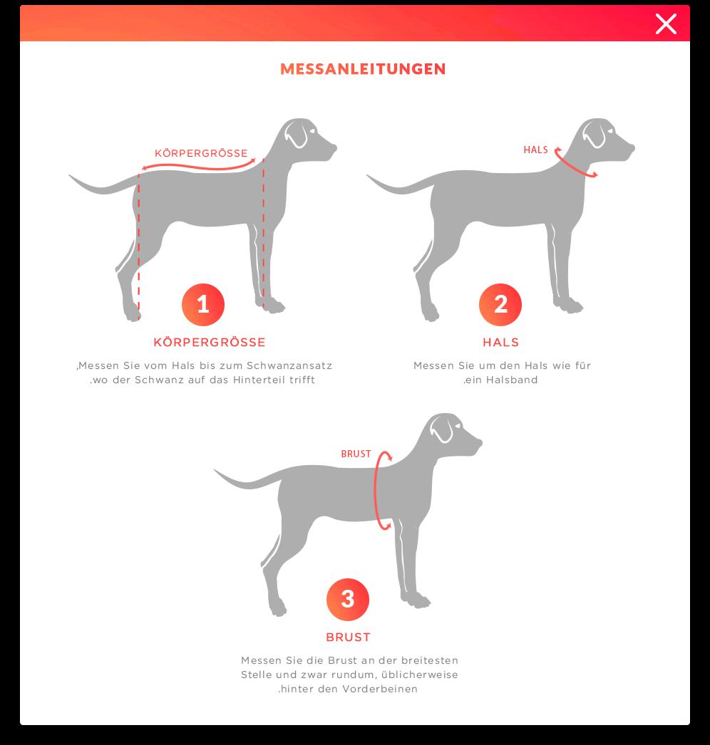 Wie man Hund misst?